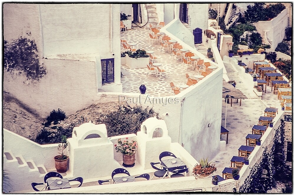 Thira Cafes by Paul Amyes