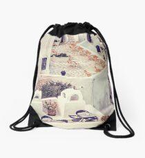 Thira Cafes Drawstring Bag