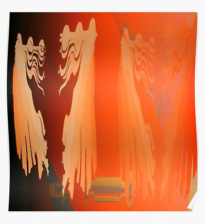 Spirits dancing in the sunlight Poster
