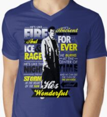 Fire and Ice and Rage  Mens V-Neck T-Shirt