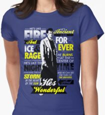 Fire and Ice and Rage  Women's Fitted T-Shirt