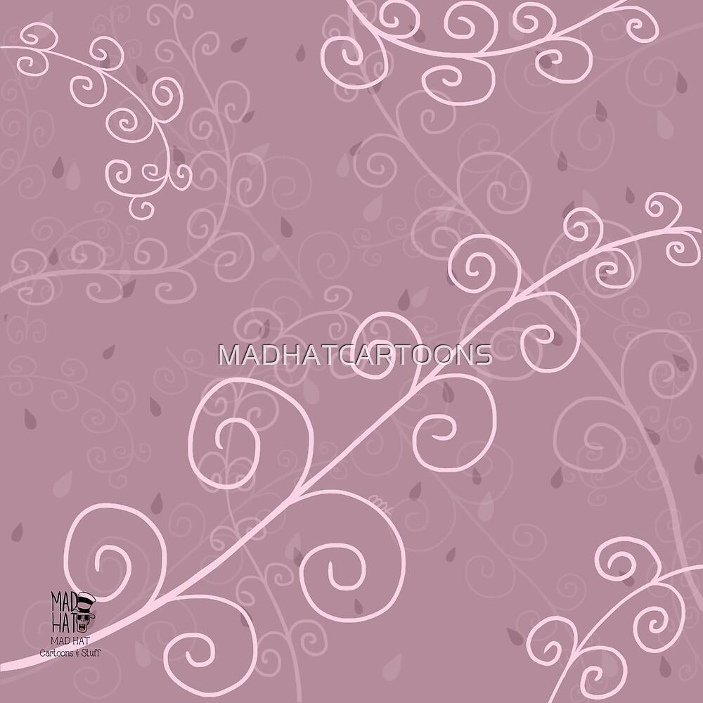 Pink Wonderland by MADHATCARTOONS