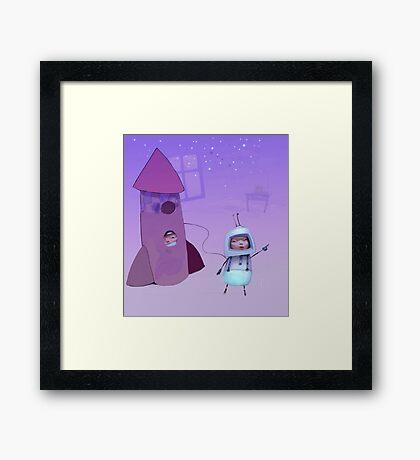 Cosmos Framed Print