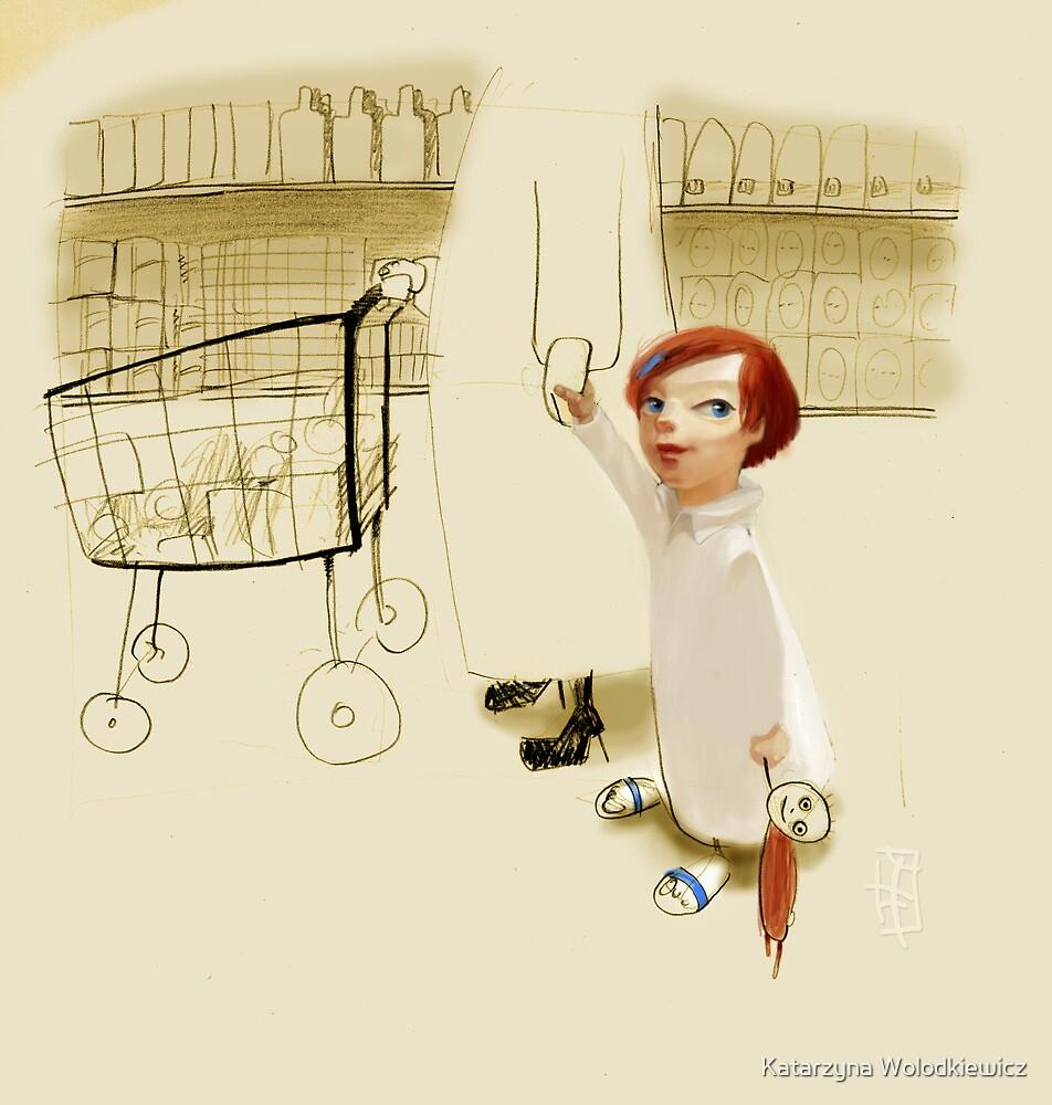 In the shop by Katarzyna Wolodkiewicz
