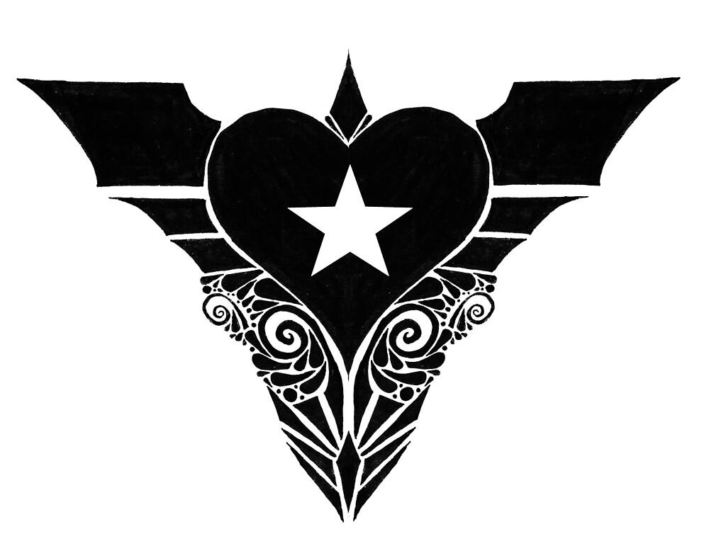 winged heart star by walter jones