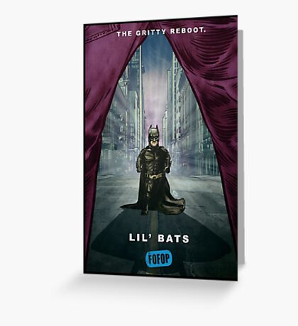 FOFOP - Lil' Bats Greeting Card