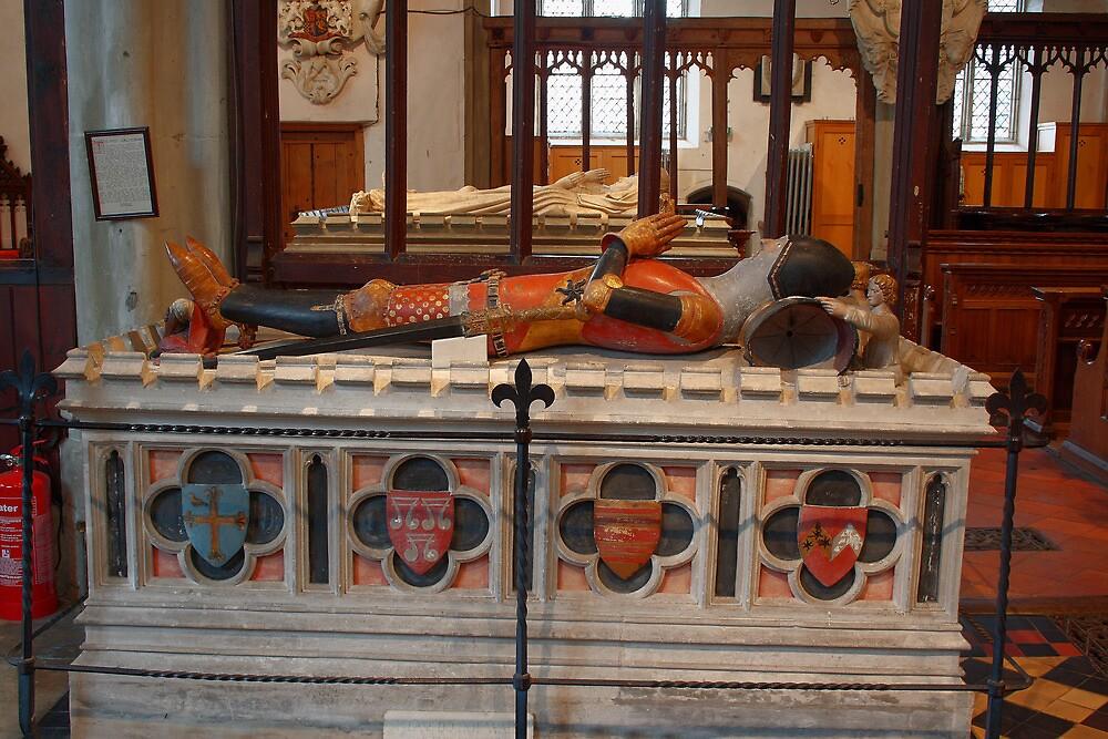 Reginald First Lord Cobham (1295-1361) by Dave Godden