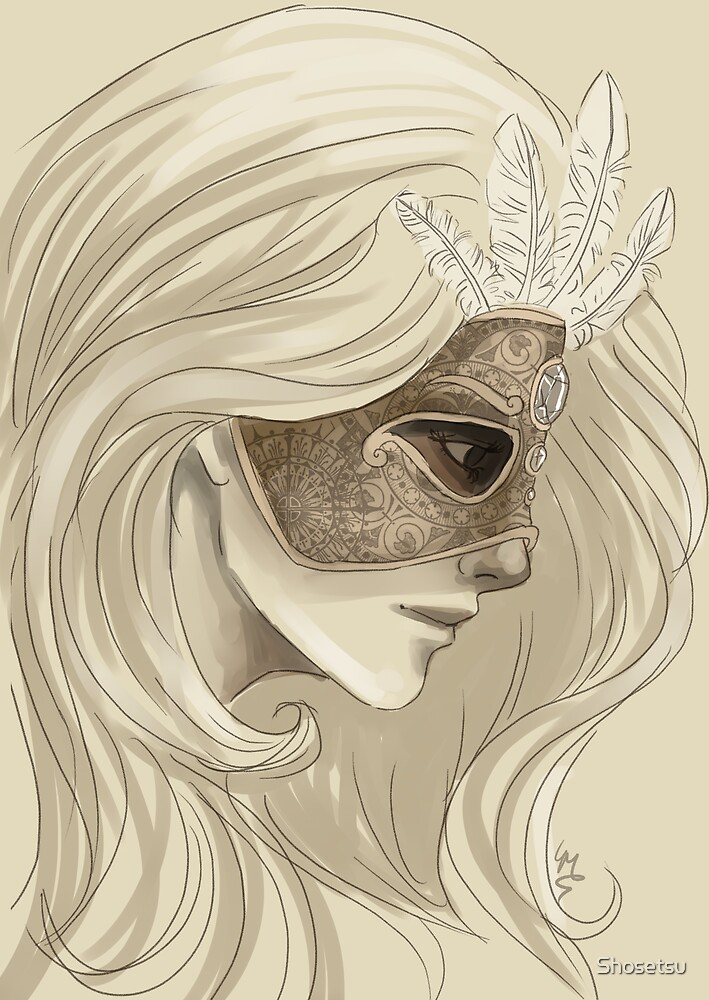 Mask by Lily Mitchell