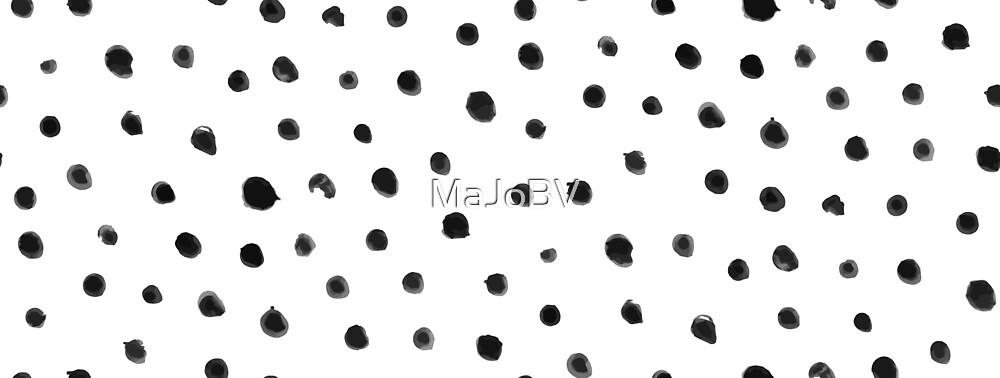 Finger Dots (black) by MaJoBV