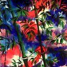 Confetti forest by chaplincat