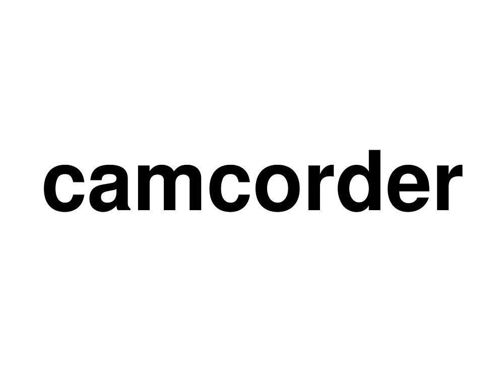 camcorder by ninov94