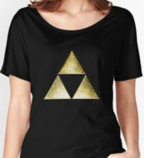 Force of three, golden version Women's Relaxed Fit T-Shirt