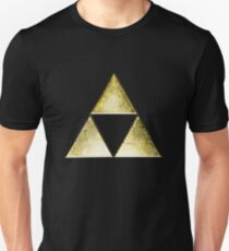 Force of three, golden version Slim Fit T-Shirt