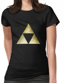 Force of three, golden version Womens Fitted T-Shirt