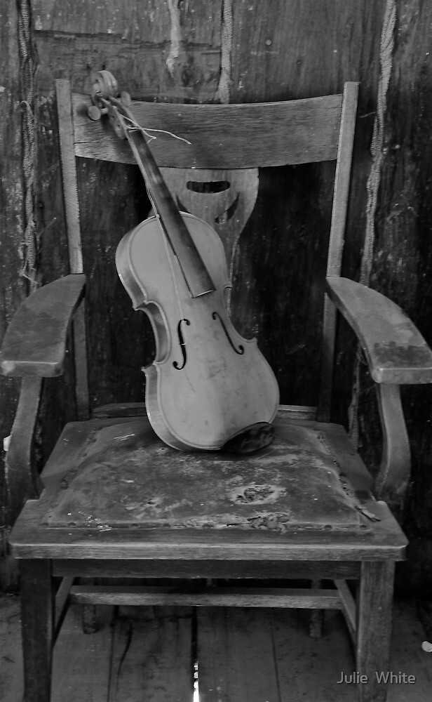 The Old Violin. by Julie  White