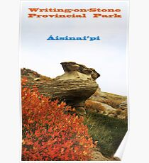 Writing on Stone Calendar Poster