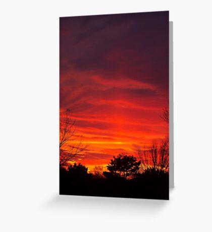 Nebulous Skies Greeting Card