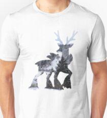 Sawsbuck (winter) used natural gift Unisex T-Shirt