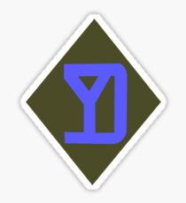 26th Maneuver Enhancement Brigade - 26th Infantry Division (United States) Sticker