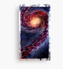 Galaxy Touch Canvas Print