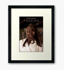 Amanda Tapping - HAIR Framed Print