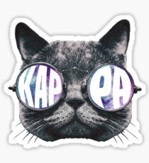 Kappa Cat Galaxy Sticker