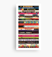 Stereo Stack Poster/Print #1 Canvas Print