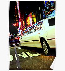 limo out of my way Poster