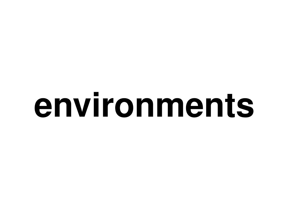 environments by ninov94