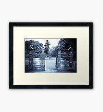 Gardens Beckoning Framed Print
