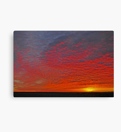 High Plains Sunrise Canvas Print