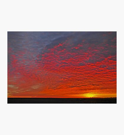 High Plains Sunrise Photographic Print