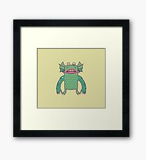Black Lagoon Monster's Ugly Brother Framed Print