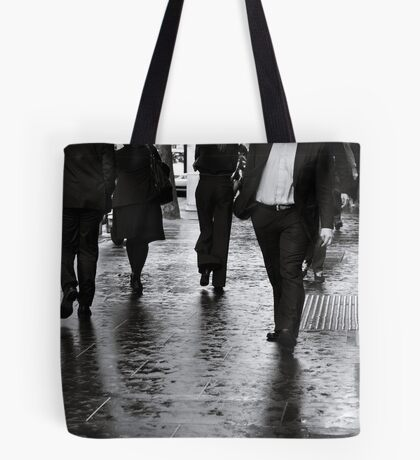 Rain Walk Tote Bag