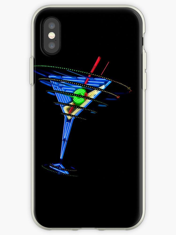 Las Vegas Neon Collection - Oscar's Martini by Bobby Deal
