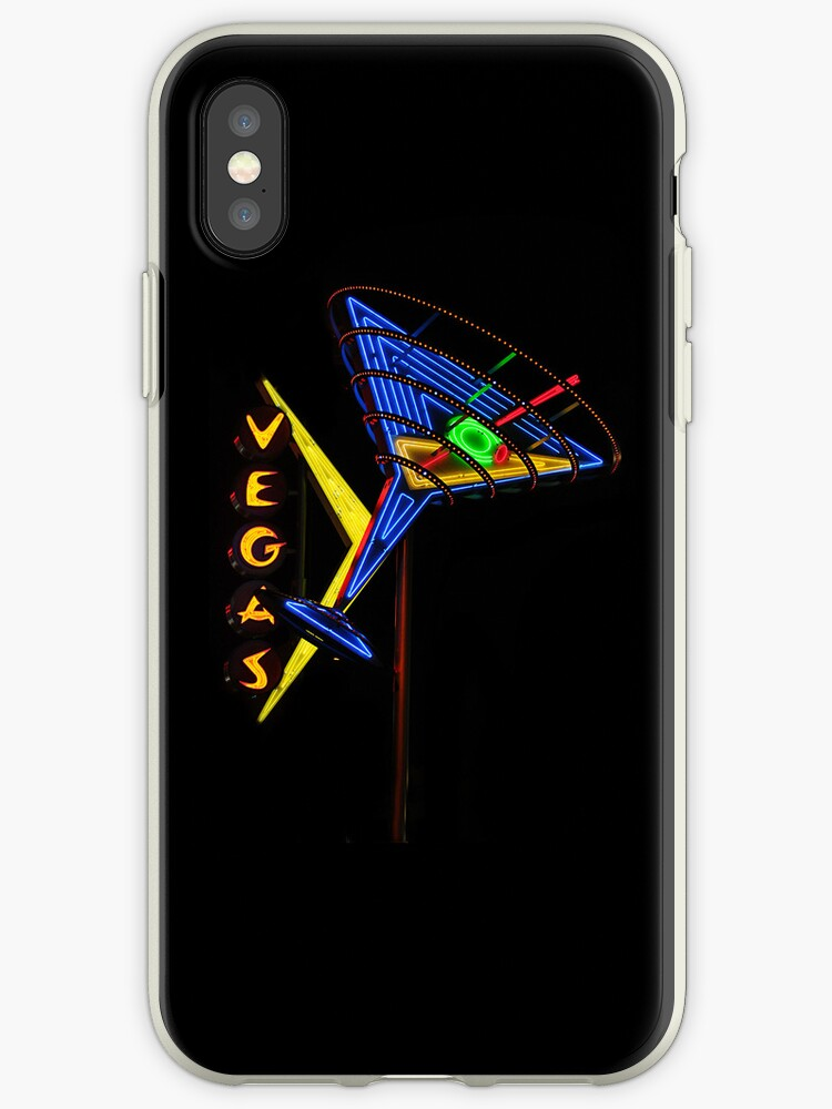 Las Vegas Neon Collection - Oscar's Martini 2 by Bobby Deal