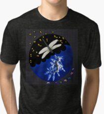 Dragonfly & Seadragon Tri-blend T-Shirt