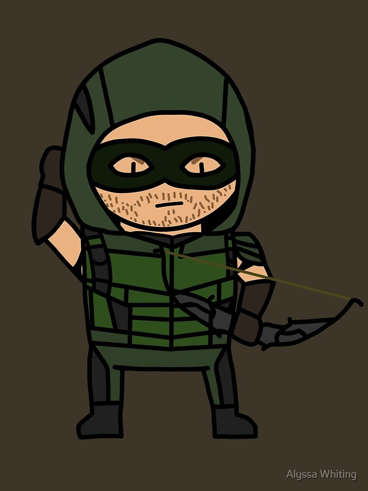 The Green Arrow by ArexTheCat