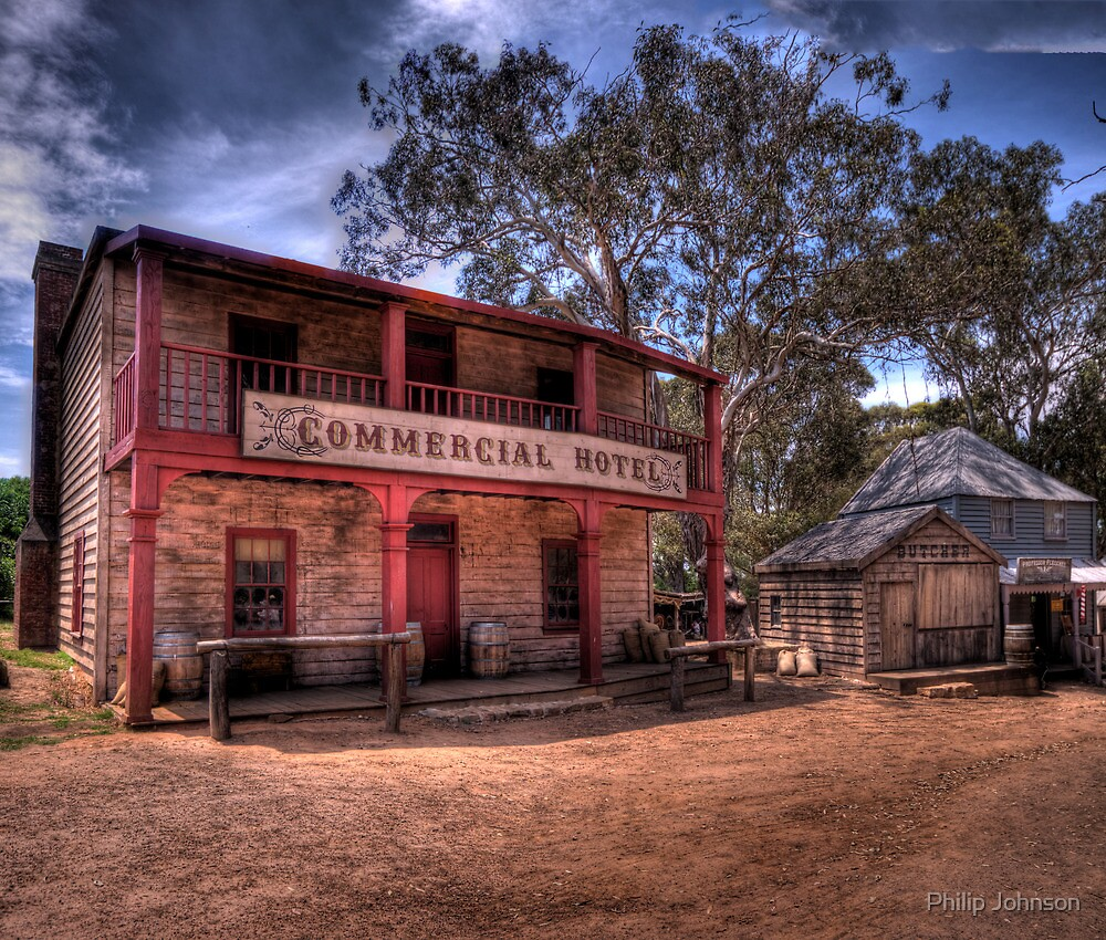 Wild Boys - Australian Pioneer Village,Wilberforce - The HDR Experience by Philip Johnson
