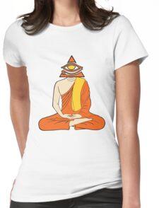 Third Eye Monk Womens Fitted T-Shirt