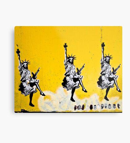 Dancing Liberty  Metal Print