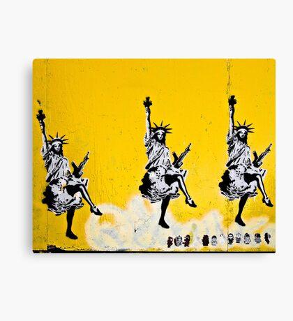 Dancing Liberty  Canvas Print