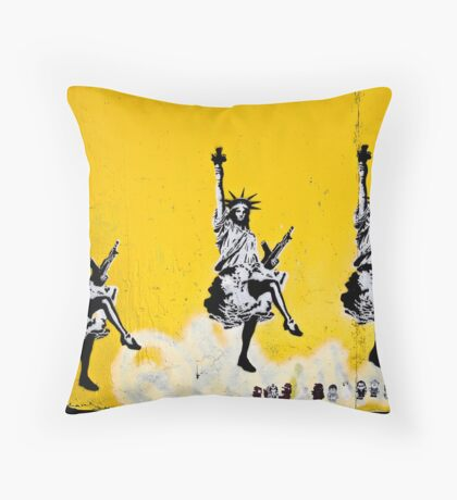 Dancing Liberty  Throw Pillow
