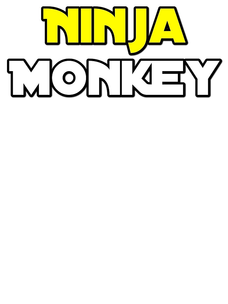 Ninja Monkey - Star Wars Font 2 by DylanCampbell