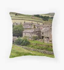Thwaite, Swaledale - The Yorkshire Dales Throw Pillow
