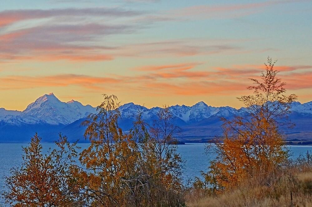 Tekapo Sunset by Harry Oldmeadow