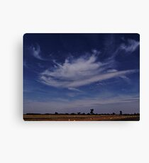 Touched by an Angel Canvas Print
