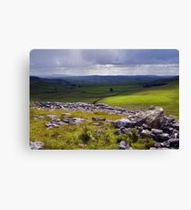 Crummackdale - The Yorkshire Dales Canvas Print