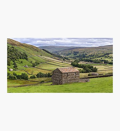 Swaledale Panorama - The Yorkshire Dales Photographic Print