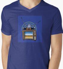 Bullhorns for the Unwary Mens V-Neck T-Shirt
